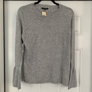 STACCATO Bell Sleeve Gray Sweater
